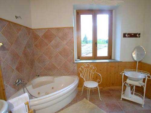 Bagno camera Giovanna di casa Carlotta