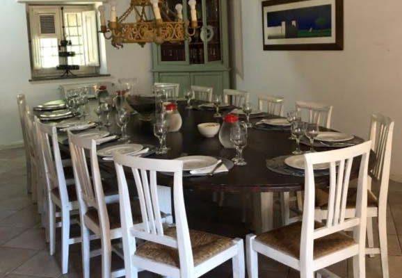 Sala da pranzo di casa Carlotta